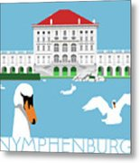 Nymphenburg Palace Metal Print