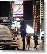Nypd Times Square Metal Print