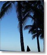 Oahu Beach Metal Print
