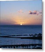 Oahu Sunset Metal Print