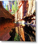 Oak Creek Canyon 1 Metal Print