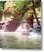 Oak Creek Sedona Metal Print