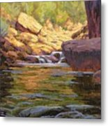 Oak Creek Tributary Metal Print