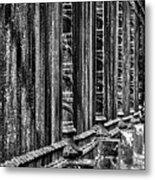 Oak Hill Cemetery Fence Metal Print