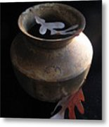 Oak Leaves And Urn Metal Print