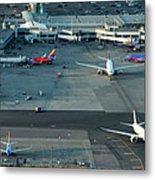 Oakland International Airport Metal Print