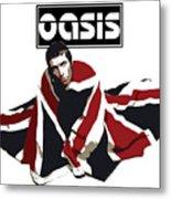 Oasis No.01 Metal Print by Caio Caldas