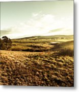 Oatlands Rolling Hills Metal Print