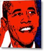 Obama Hope Metal Print