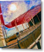 Observation Tower Circuit Of The Americas Metal Print