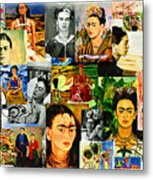 Obsessed With Frida Kahlo Metal Print