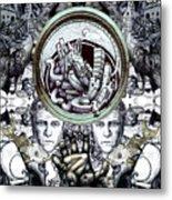 Obsessive Compulsion Metal Print