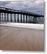 Ocean City Pier 3 Metal Print