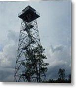 Ocala National Forest Fire Tower Metal Print