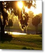 Ocala Sunset Metal Print