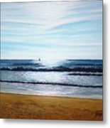 Ocean And Light Metal Print
