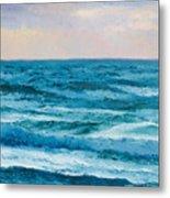Ocean Art 2 Metal Print