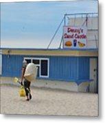 Ocean Beach In September Metal Print