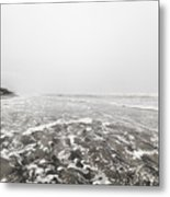 Ocean Beach In Tasmania Metal Print