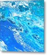 Ocean Blue -tac Metal Print