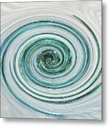 Ocean Blue Whip Metal Print