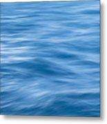Ocean Blur Metal Print