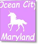 Ocean City Maryland Metal Print