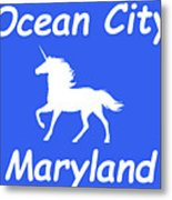 Ocean City Md Metal Print