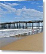 Ocean City Pier Metal Print