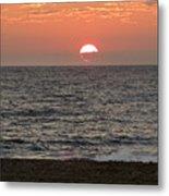 Ocean City Sunrise Metal Print