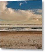 Ocean Clouds Metal Print