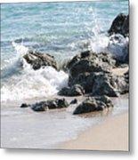 Ocean Drive Rocks Metal Print