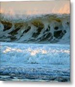 Ocean Energy At Sunrise Metal Print