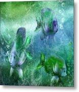 Ocean Fantasy 4 Metal Print