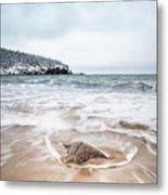 Ocean Flows Metal Print
