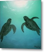 Ocean Light Metal Print
