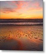 Ocean Light Metal Print