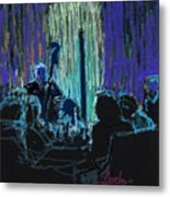 Ocean Lounge Jazz Night Metal Print