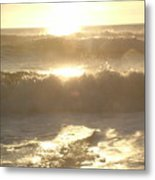 Ocean Meditation Metal Print