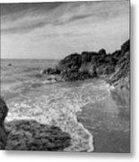 Ocean Rush Metal Print