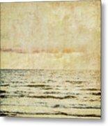 Ocean Scene Metal Print