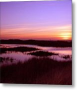 Ocean Shores Sunset Ss 1003 Metal Print