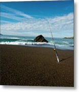 Ocean Side Lunch - San Francisco Bay Metal Print