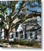 Ocean Springs Church Metal Print