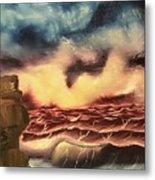 Ocean Storm Metal Print