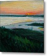 Ocean Sunset No.1 Metal Print