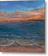 Ocean Sunset Series- Solitude II Metal Print