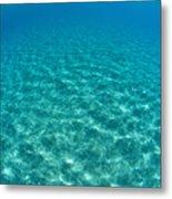 Ocean Surface Reflections Metal Print