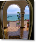Ocean View Metal Print by Kim Michaels