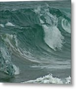 Ocean Waves 2 Metal Print